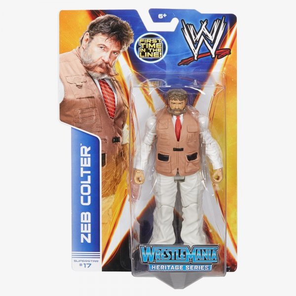 Zeb Colter - WWE Basic Series #37