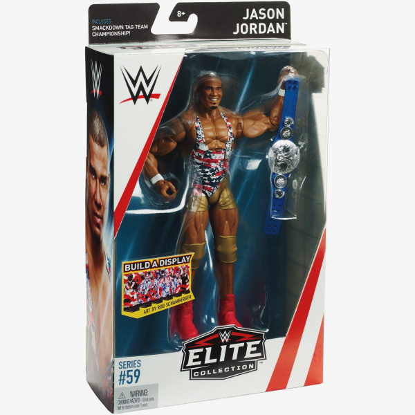 Jason Jordan WWE Elite Collection Series #59