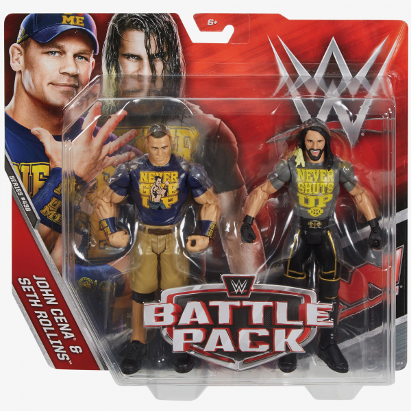 John Cena & Seth Rollins - WWE Battle Pack Series #43 B