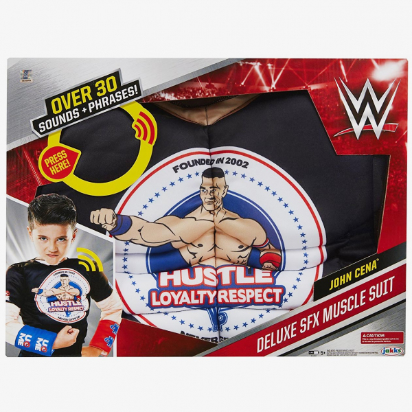 John Cena - WWE Deluxe Sound FX Muscle Suit Role-play