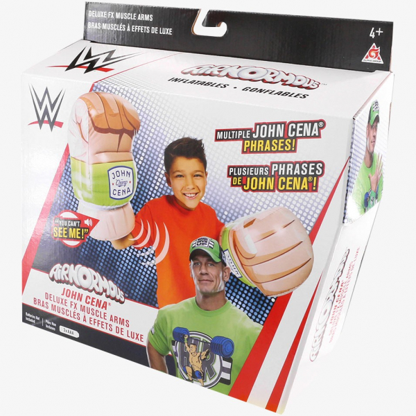 WWE Deluxe FX Inflatable John Cena Muscle Arms