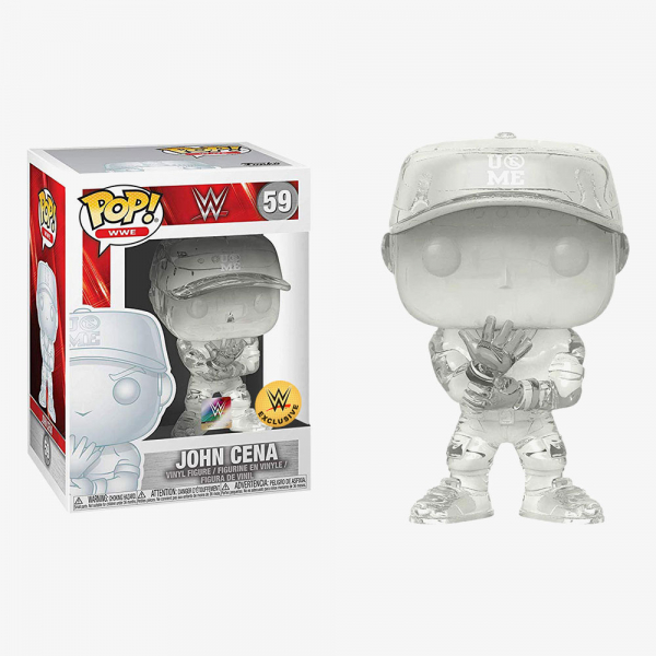 John Cena You Can't See Me (Invisible) WWE POP! Exclusive