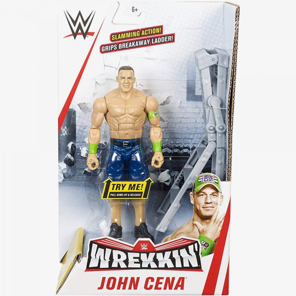 John Cena WWE Wrekkin' Figures Series (With Ladder)