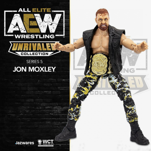 Jon Moxley - AEW Unrivaled Collection Series #5