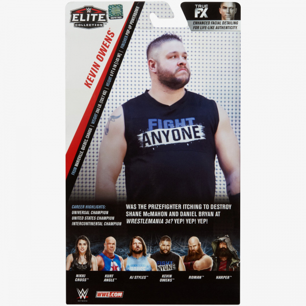 Kevin Owens WWE Elite Collection Series #66