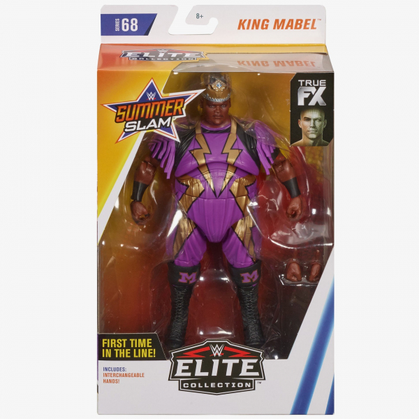 King Mabel (Lightning bolts) WWE Elite Collection Series #68 (Chase Variant)
