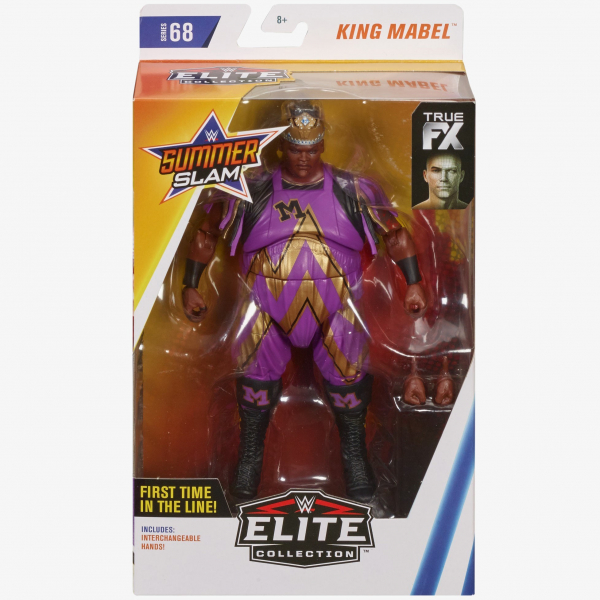 King Mabel (M) WWE Elite Collection Series #68