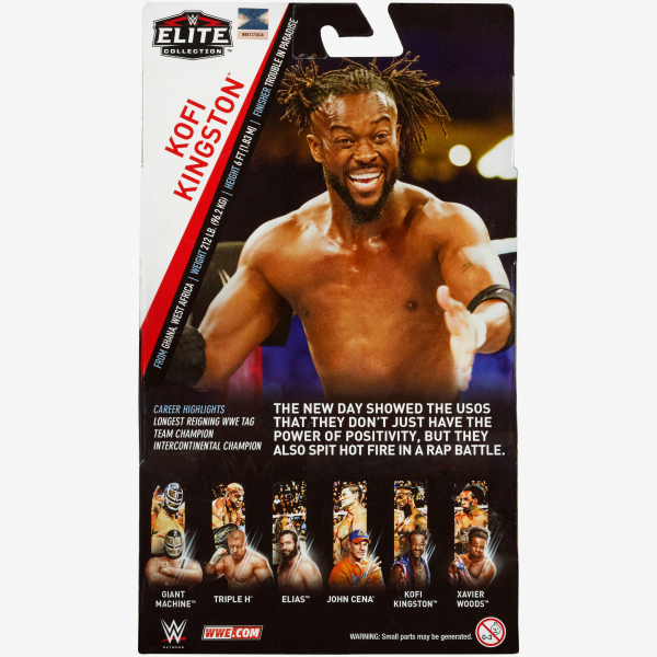 Kofi Kingston WWE Elite Collection Series #60