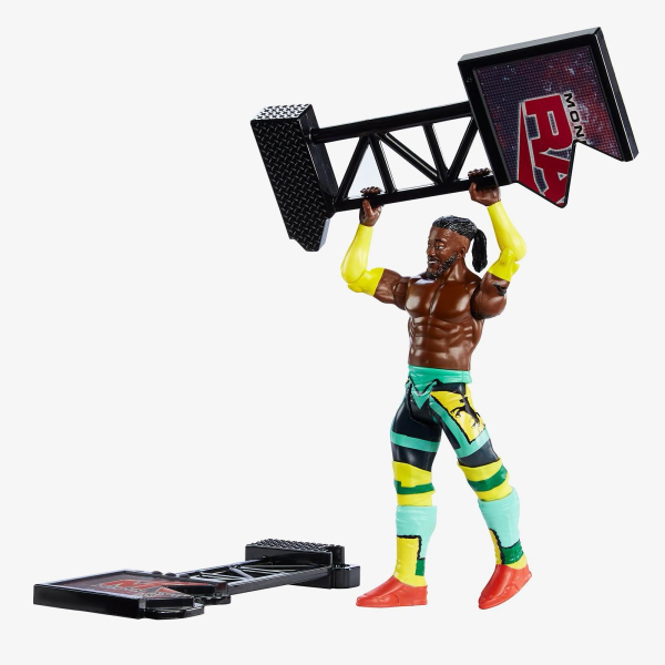 Kofi Kingston WWE Wrekkin' Series #6 (With TV Monitor)