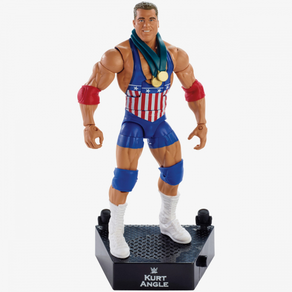 Kurt Angle WWE Entrance Greats