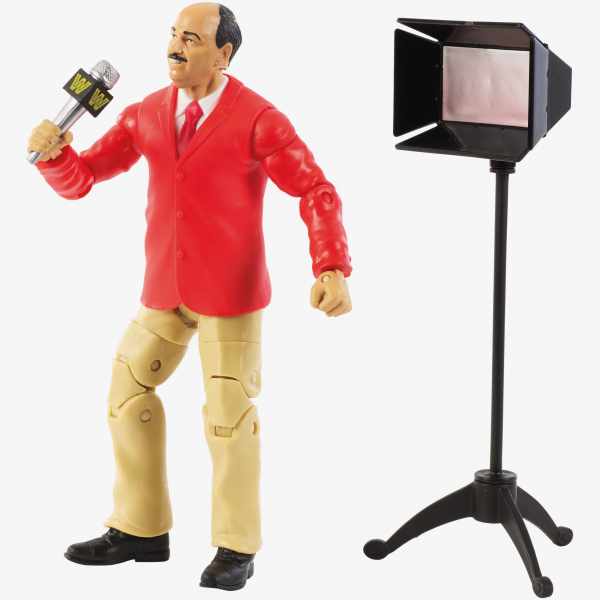 Mean Gene Okerlund - WWE Flashback Elite Series #1 (Build a Set)