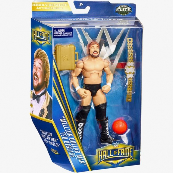 Million Dollar Man - Ted Dibease - WWE Hall of Fame Elite Collection Series #3