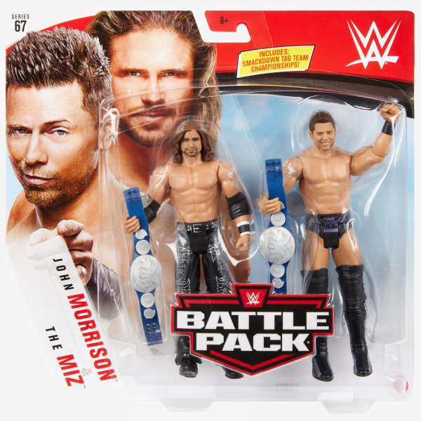 John Morrison & The Miz - WWE Battle Pack Series #67