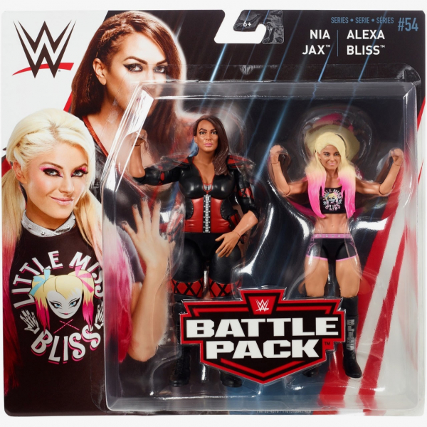 Alexa Bliss & Nia Jax - WWE Battle Pack Series #54