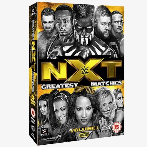 WWE NXT Greatest Matches Volume 1 DVD