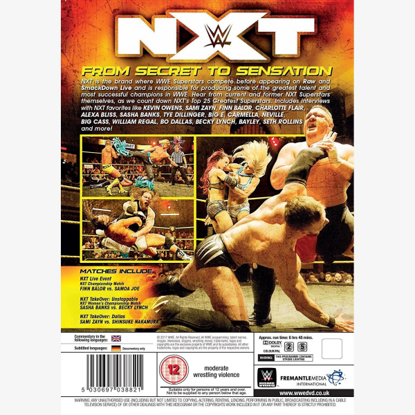 NXT From Secret to Sensation DVD