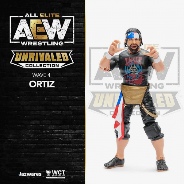 Ortiz - AEW Unrivaled Collection Series #4