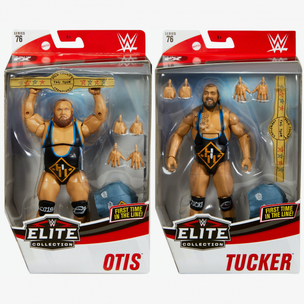 Otis & Tucker (Heavy Machinery) WWE Elite Collection Series #76