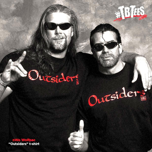 The Outsiders (nWo) Mens Retro WWE T-Shirt
