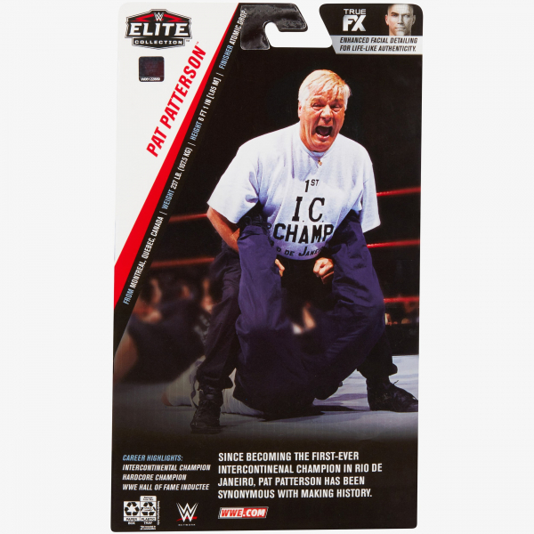 Pat Patterson WWE Elite Collection Exclusive