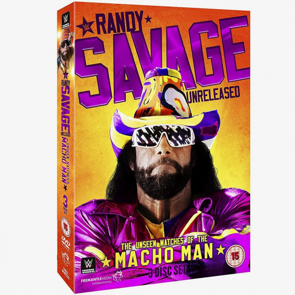 WWE Randy Savage Unreleased - The Unseen Matches Of The Macho Man DVD