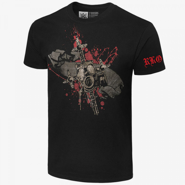 Randy Orton - Legend Killer Gas Mask - Men's WWE Retro T-Shirt