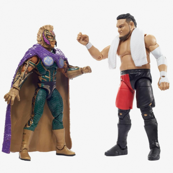Rey Mysterio & Samoa Joe WWE Elite Collection 2-Pack Series