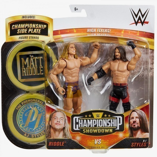 Riddle & AJ Styles - WWE Championship Showdown 2-Pack Series #4