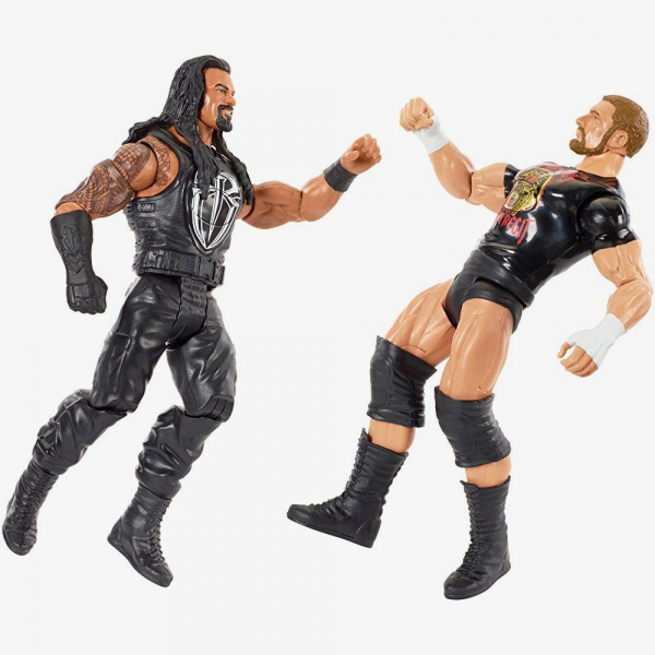Roman Reigns & Triple H WWE Tough Talkers Twin-Pack Series #2