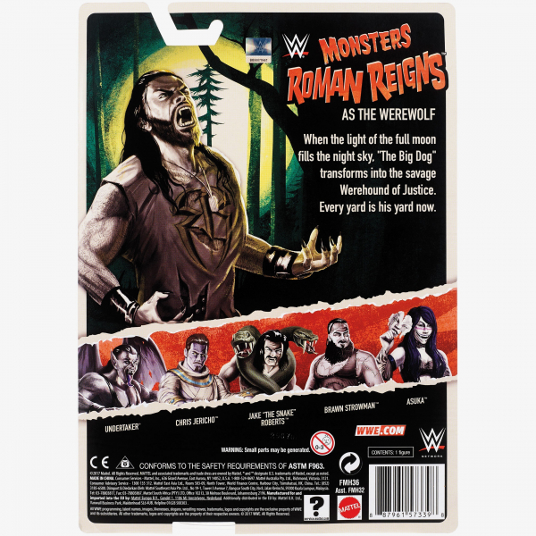 Roman Reigns WWE Monsters Series #1