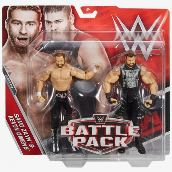 Sami Zayn & Kevin Owens - WWE Battle Pack Series #44