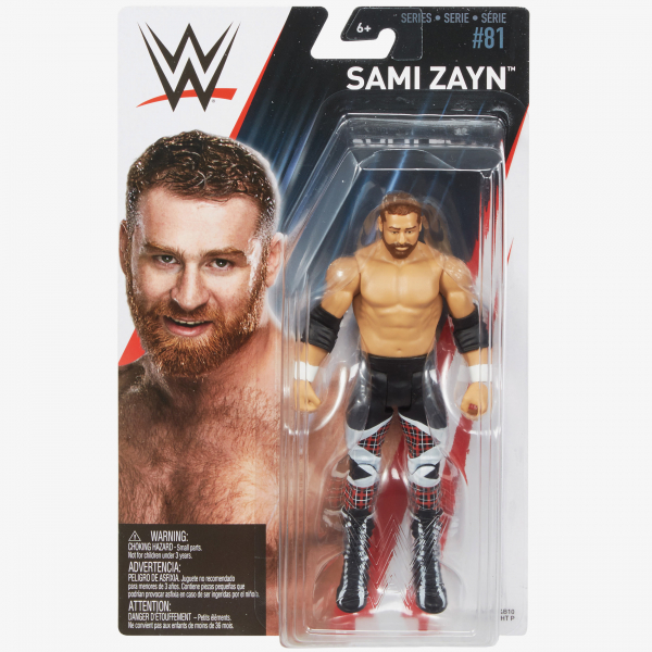 Sami Zayn - WWE Basic Series #81