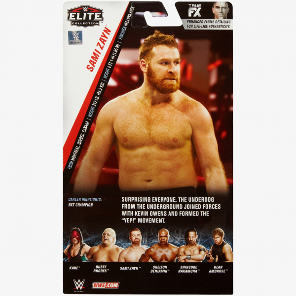 Sami Zayn WWE Elite Collection Series #63