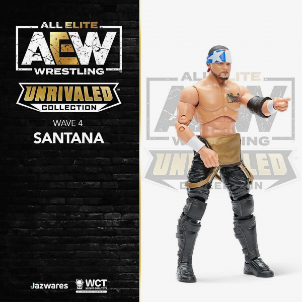 Santana - AEW Unrivaled Collection Series #4
