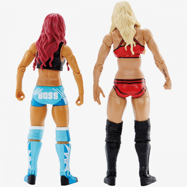 Sasha Banks & Charlotte - WWE Battle Pack Series #47