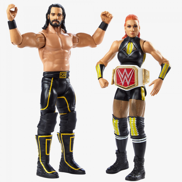 Seth Rollins & Becky Lynch - WWE Battle Pack Series #66