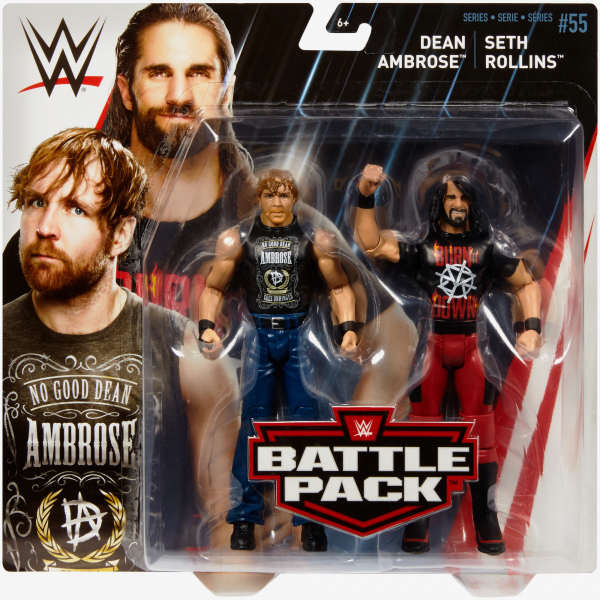 Dean Ambrose & Seth Rollins - WWE Battle Pack Series #55