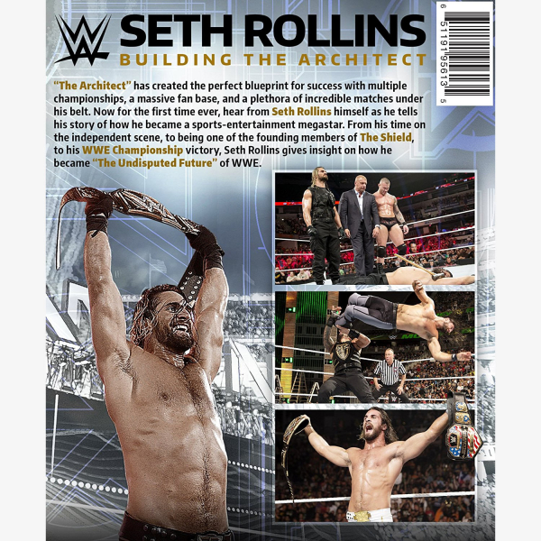 WWE Seth Rollins Building The Architect DVD