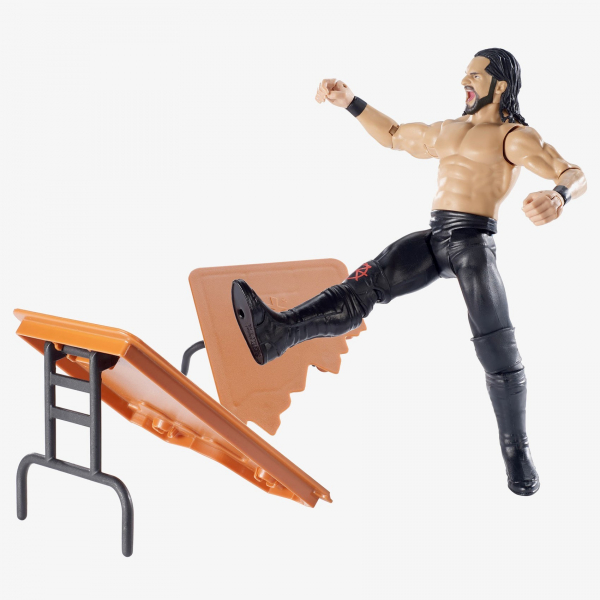 Seth Rollins WWE Wrekkin' Figures Series (With Table)