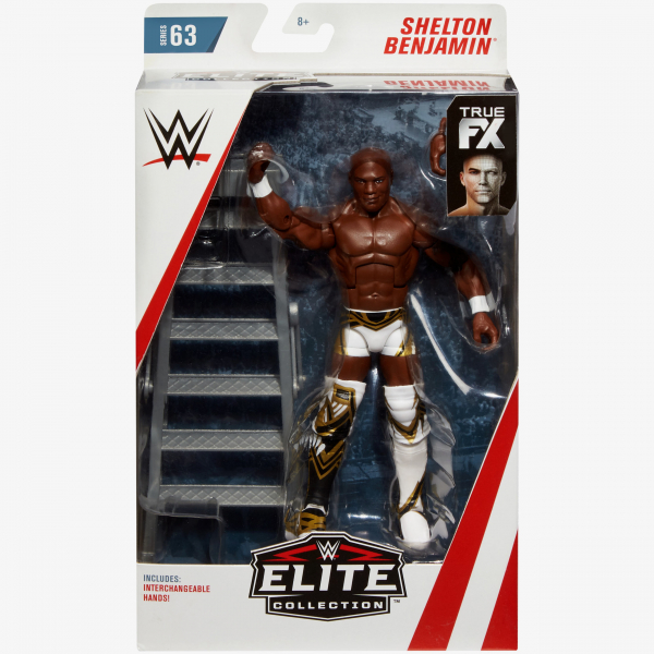 Shelton Benjamin WWE Elite Collection Series #63