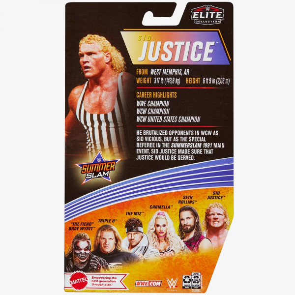Sid Justice WWE Elite Collection Series #86