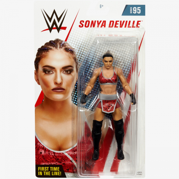 Sonya Deville (Red attire) WWE Basic Series #95