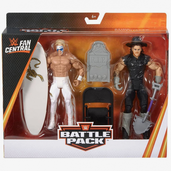Sting & The Undertaker - WWE Fan Central Battle Pack Series