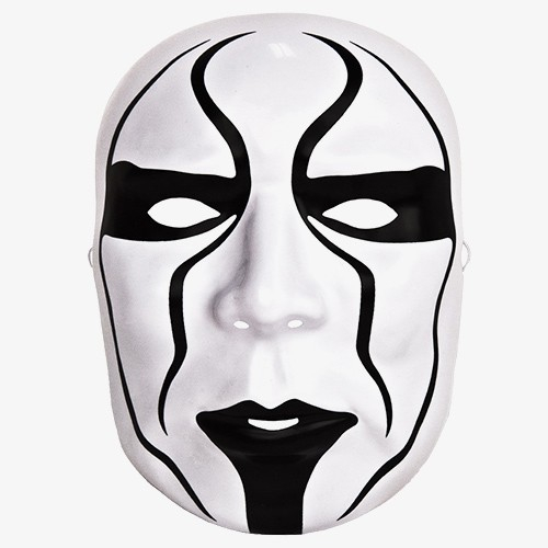 Sting WWE Toy Plastic Mask