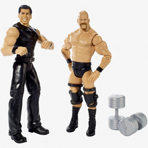 Stone Cold Steve Austin & Mr McMahon - WWE Battle Pack Series #40