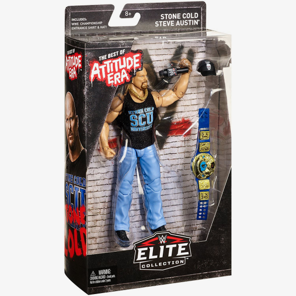 Stone Cold Steve Austin - WWE Best of Attitude Era Elite Collection