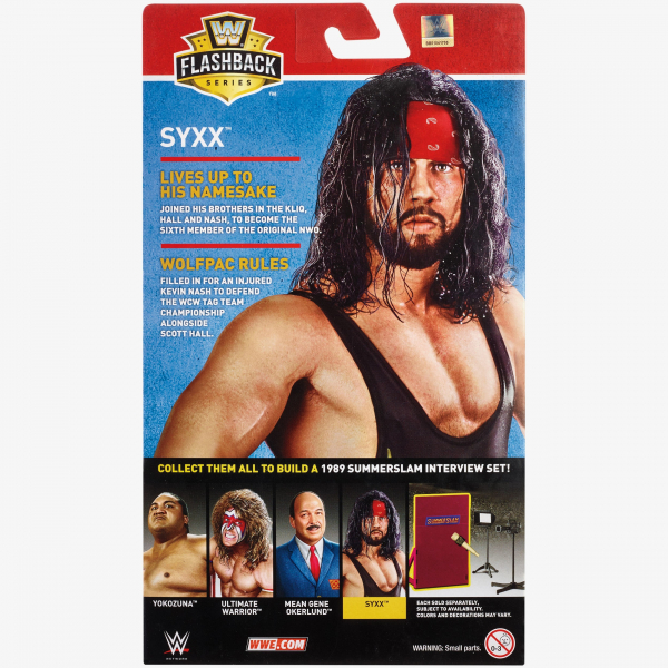 Syxx - WWE Flashback Elite Collection Series #1 (Build an Interview Set)