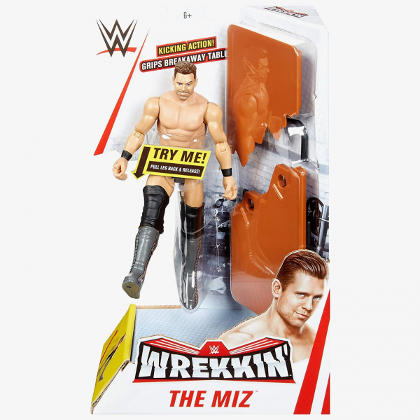 The Miz WWE Wrekkin' Figures Series (With Breakable Table)