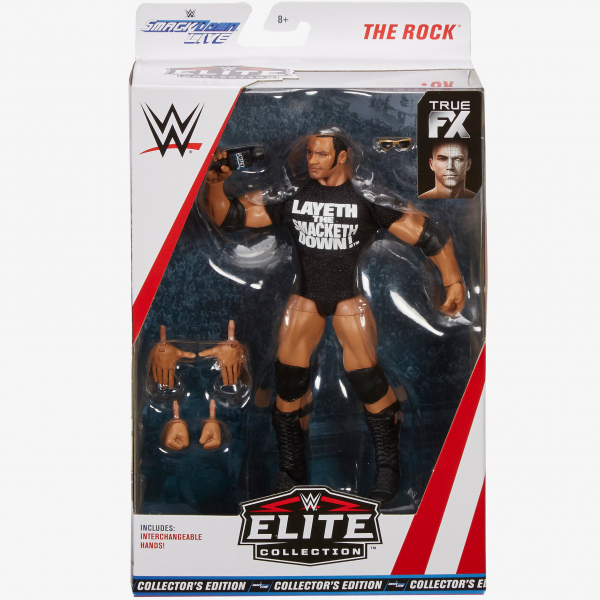 The Rock WWE Elite Collection Exclusive