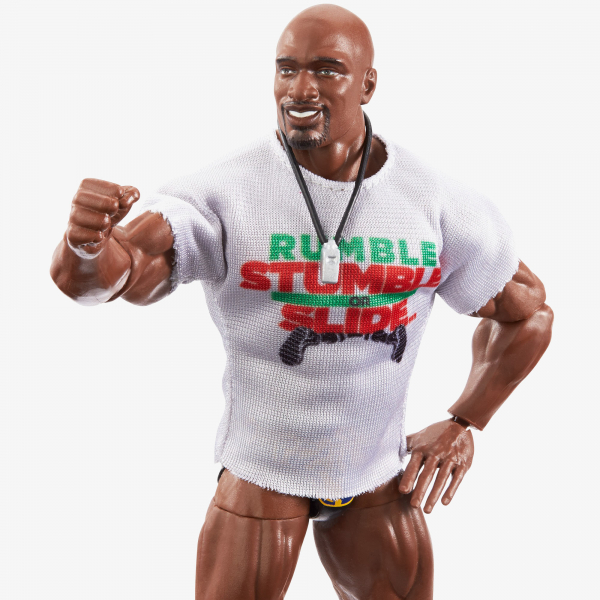 Titus O'Neil WWE Royal Rumble 2021 Elite Collection